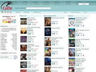 Cede.ch - Boutique en Ligne de DVD CD Livres et Musique en Suisse