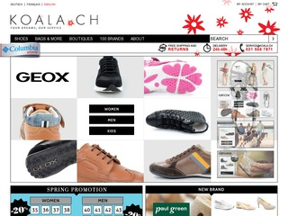 Koala.ch - Boutique de chaussures en ligne suisse