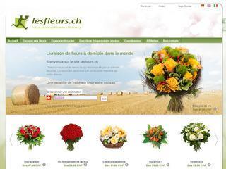 lesfleurs.ch – livraison de fleurs en suisse « annuaire e-commerce
